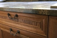 fronty drewniane z frezem antycznym