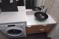 zabudowa pralki w łazience-1